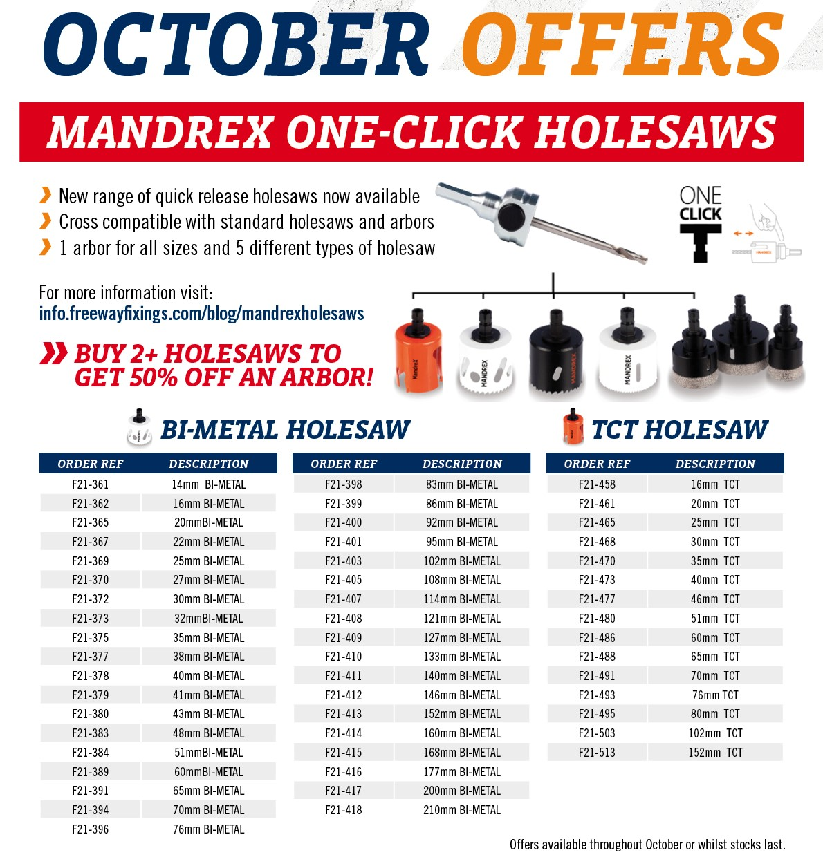 39421 Freeway October Offer 2020A